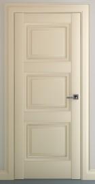 Межкомнатная дверь Гранд В1, пг, матовый крем