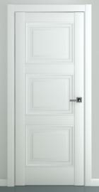 Фото -   Межкомнатная дверь Гранд В2, пг, матовый белый   | фото в интерьере