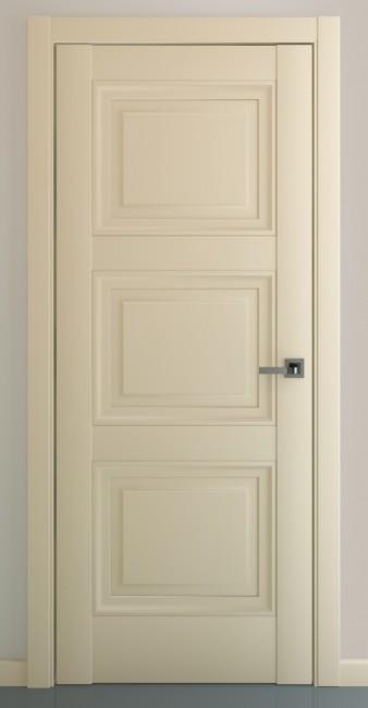 Фото -   Межкомнатная дверь Гранд В2, пг, матовый крем   | фото в интерьере