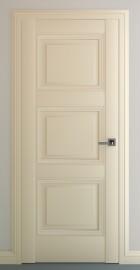 Фото -   Межкомнатная дверь Гранд В3, пг, матовый крем   | фото в интерьере