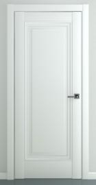 Межкомнатная дверь Неаполь В2, пг, матовый белый
