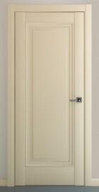 Фото -   Межкомнатная дверь Неаполь В2, пг, матовый крем   | фото в интерьере