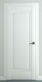 Межкомнатная дверь Неаполь В3, пг, матовый белый
