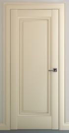 Фото -   Межкомнатная дверь Неаполь В1, пг, матовый крем   | фото в интерьере