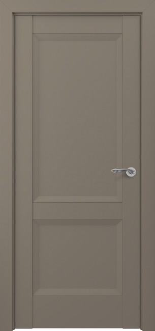 Фото -   Межкомнатная дверь Zadoor ПГ Венеция тип-N матовый графит     фото в интерьере