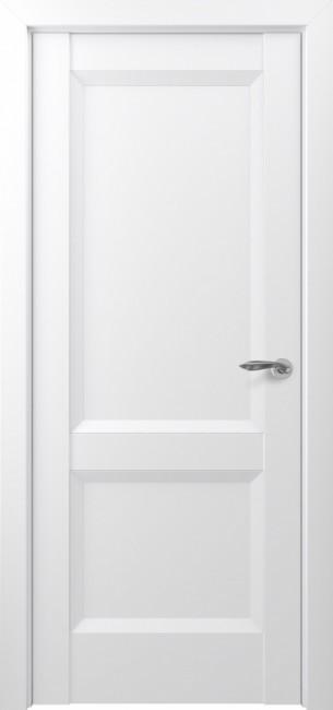 Фото -   Межкомнатная дверь Zadoor ПГ Венеция тип-N матовый белый     фото в интерьере