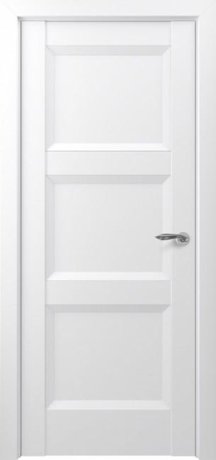 Фото -   Межкомнатная дверь Zadoor ПГ Гранд тип-N матовый белый   | фото в интерьере