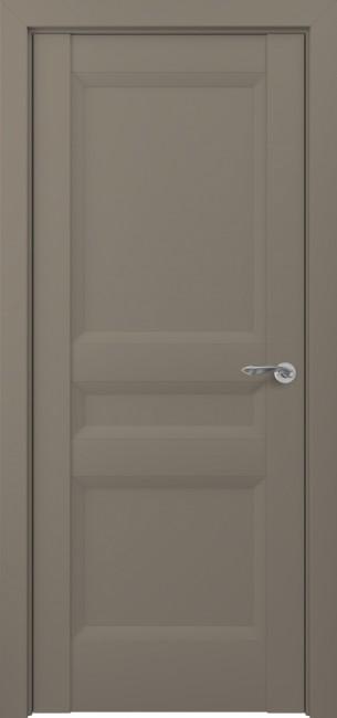Фото -   Межкомнатная дверь Zadoor ПГ Ампир тип-N матовый графит   | фото в интерьере