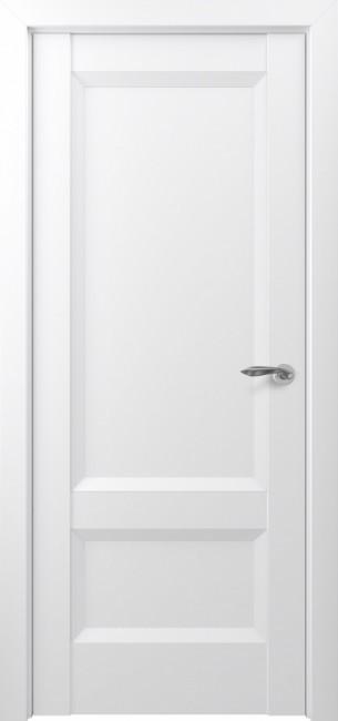 Фото -   Межкомнатная дверь Zadoor ПГ Турин тип-N матовый белый   | фото в интерьере
