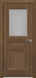 Межкомнатная дверь Zadoor ПО Ампир тип-N пекан светло-коричневый