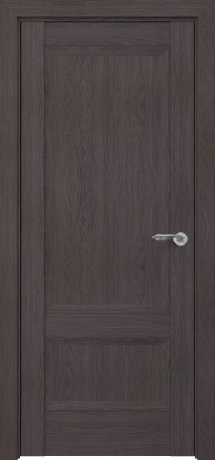 Фото -   Межкомнатная дверь Zadoor ПГ Турин тип-N пекан темно-коричневый     фото в интерьере