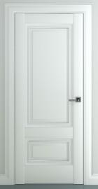 """Межкомнатная дверь """"Турин В1"""", пг, матовый белый"""