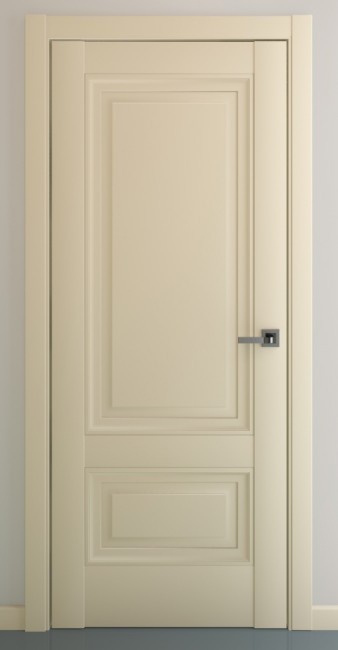 """Межкомнатная дверь """"Турин В2"""", пг, матовый крем"""