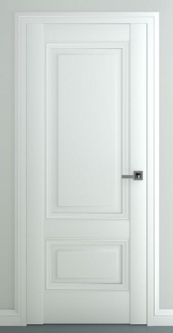 """Межкомнатная дверь """"Турин В3"""", пг, матовый белый"""
