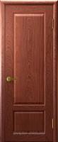 """Межкомнатная дверь """"Валенсия 1"""", пг, красное дерево"""