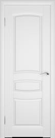Межкомнатная дверь ПГ Этюд Белая Эмаль