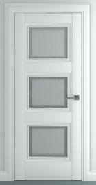 Межкомнатная дверь Гранд В1, по, матовый белый