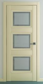 Фото -   Межкомнатная дверь Гранд В2, по, матовый крем   | фото в интерьере