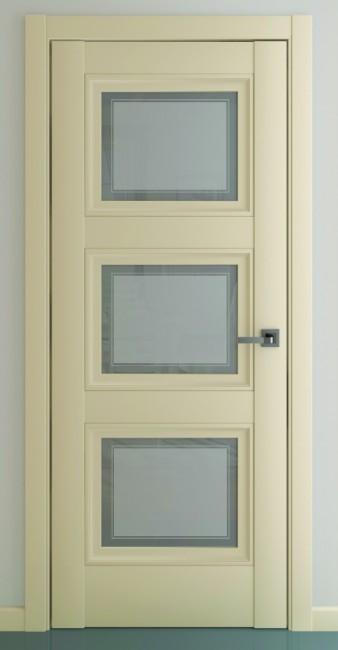 Межкомнатная дверь Гранд В2, по, матовый крем