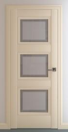 Фото -   Межкомнатная дверь Гранд В3, по, матовый крем   | фото в интерьере