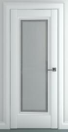 Межкомнатная дверь Неаполь В1, по, матовый белый
