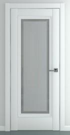 Межкомнатная дверь Неаполь В2, по, матовый белый