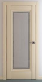 Фото -   Межкомнатная дверь Неаполь В2, по, матовый крем   | фото в интерьере