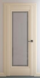 Фото -   Межкомнатная дверь Неаполь В3, по, матовый крем   | фото в интерьере