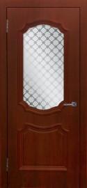 """Межкомнатная дверь ПВХ """"Асти"""", по, коньяк"""