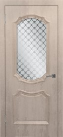 """Межкомнатная дверь ПВХ """"Асти"""", по, крем"""
