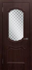 """Межкомнатная дверь ПВХ """"Асти"""", по, шоколад"""