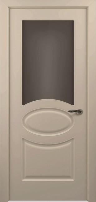 Фото -   Межкомнатная дверь ПО Прованс Капучино Эмаль   | фото в интерьере