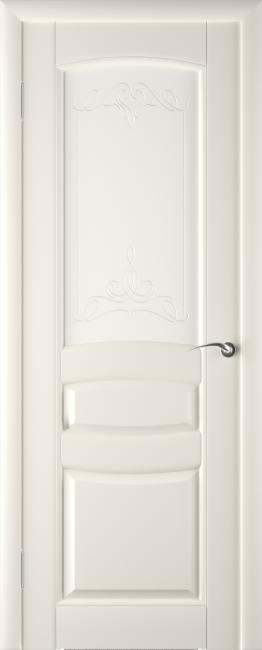 Фото -   Межкомнатная дверь ПО Этюд Жемчуг Эмаль   | фото в интерьере