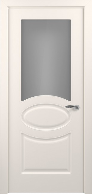 Фото -   Межкомнатная дверь ПО Прованс Жемчуг Эмаль   | фото в интерьере