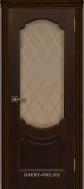 """Межкомнатная дверь """"Монако"""", по, орех тон 2"""