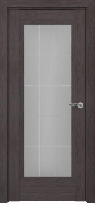 Фото -   Межкомнатная дверь Zadoor ПО Неаполь тип-N пекан темно-коричневый   | фото в интерьере