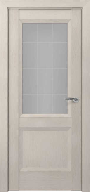 Фото -   Межкомнатная дверь Zadoor ПО Венеция тип-N пекан кремовый   | фото в интерьере