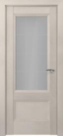 Межкомнатная дверь Zadoor ПО Турин тип-N пекан кремовый