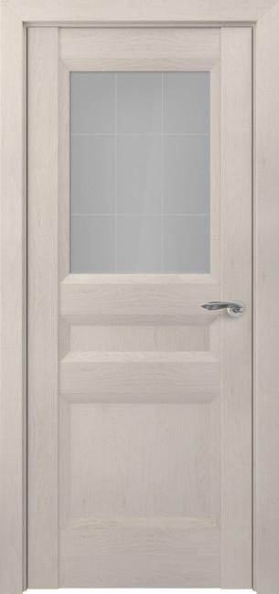 Фото -   Межкомнатная дверь Zadoor ПО Ампир тип-N пекан кремовый   | фото в интерьере