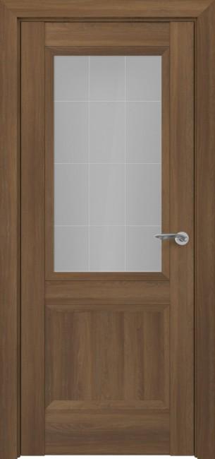 Фото -   Межкомнатная дверь Zadoor ПО Венеция тип-N пекан светло-коричневый   | фото в интерьере