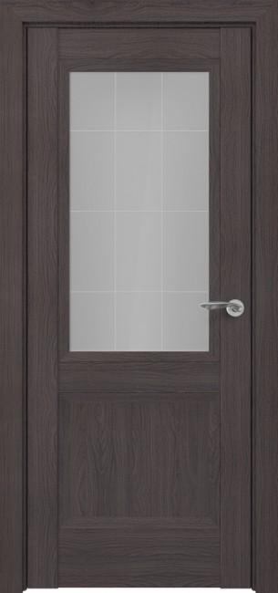 Фото -   Межкомнатная дверь Zadoor ПО Венеция тип-N пекан темно-коричневый   | фото в интерьере