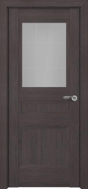 Фото -   Межкомнатная дверь Zadoor ПО Ампир тип-N пекан темно-коричневый   | фото в интерьере