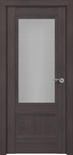Фото -   Межкомнатная дверь Zadoor ПО Турин тип-N пекан темно-коричневый   | фото в интерьере