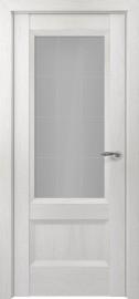 Межкомнатная дверь Zadoor ПО Турин тип-N пекан белый