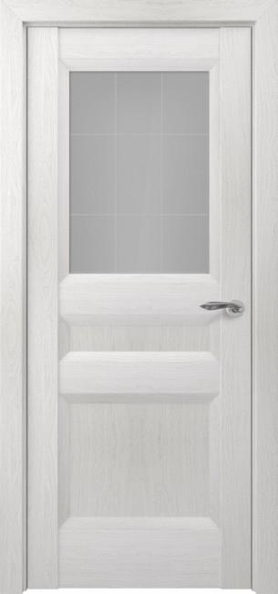 Фото -   Межкомнатная дверь Zadoor ПО Ампир тип-N пекан белый   | фото в интерьере