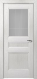 Межкомнатная дверь Zadoor ПО Ампир тип-N пекан белый