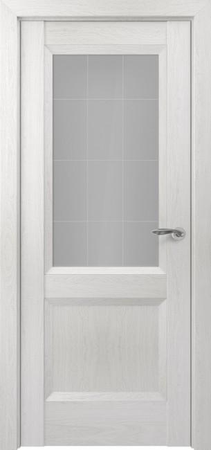 Фото -   Межкомнатная дверь Zadoor ПО Венеция тип-N пекан белый     фото в интерьере