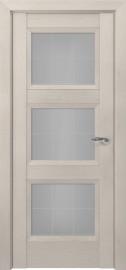 Межкомнатная дверь Zadoor ПО Гранд тип-N пекан кремовый