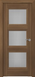 Межкомнатная дверь Zadoor ПО Гранд тип-N пекан светло-коричневый