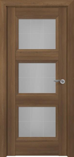 Фото -   Межкомнатная дверь Zadoor ПО Гранд тип-N пекан светло-коричневый   | фото в интерьере